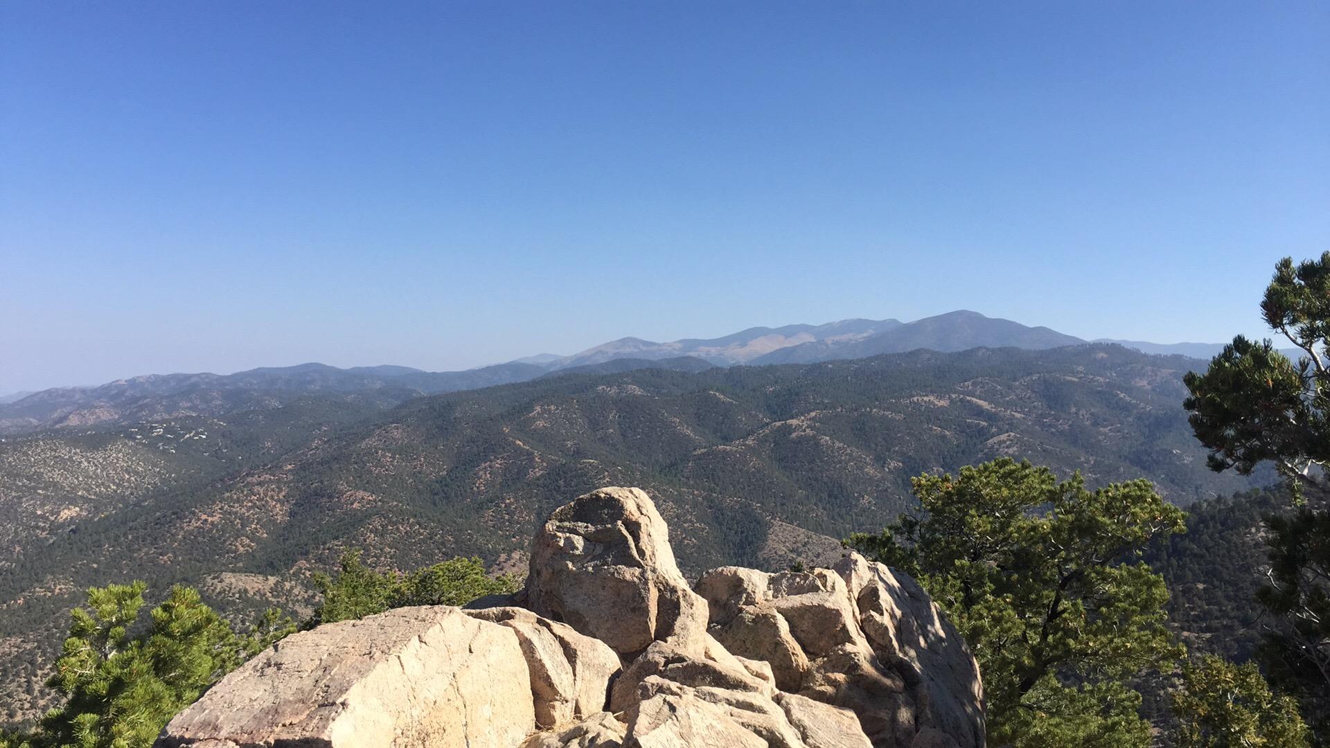 picacho peak summit view
